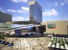 NASCAR Hall of Fame - Genesis Structures