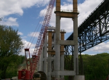 Upper Kate Shelley Bridge - Genesis Structures