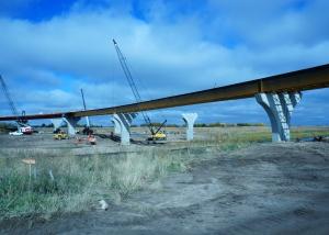 i 235 flyover bridges