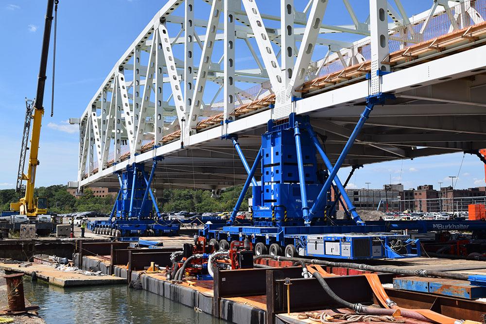 Fore River Lift Bridge Construction - Genesis Structures